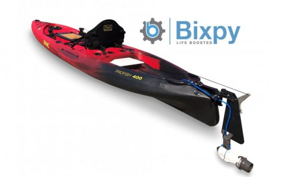 Viking Kayaks - NZ - Profish 400 E - Bixpy Electric Jet