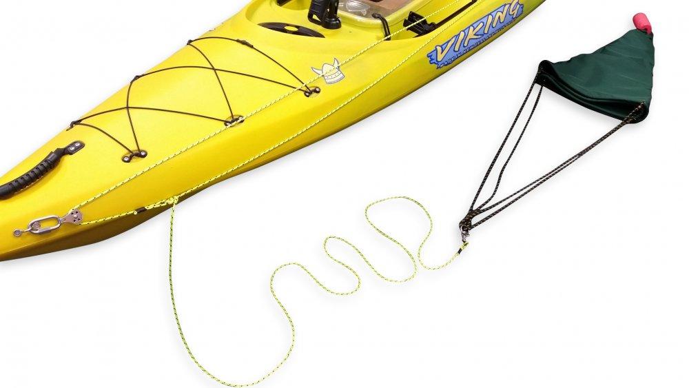 Viking Kayaks - NZ - Running Rig / Anchor Trolley, attach