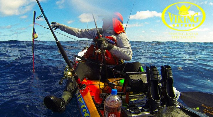 Hot Kayak Fishing Tuna Action